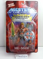 MOTU, He-Man, Comic Con Exclusive, 200x, Masters of the Universe, MOC, carded