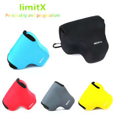 NEW Neoprene Soft case cover camera bag for Canon EOS M50 with 15-45mm lens