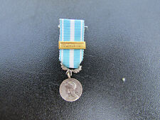 Medal Colonial French IN Reduction Barrette Tunisia Original