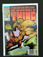 THE ADVENTURES OF THE THING #1 MARVEL COMICS VF 1992 NEWSSTAND EDITION
