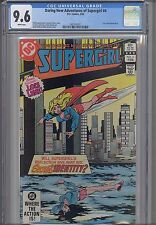 Supergirl ( Daring NEW Adventures of) #4 CGC 9.6 DC 1983 Comic NEW FRAME