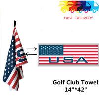 "Golf Jacquard Towel 14"" x 42"" Micro Fiber Club/Cart Durable Soft Ping Titleist"
