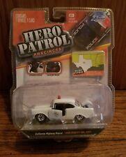 Jada Hero Patrol California Hwy Patrol 1956 Chevy Bel-Air NIP 1:64 Error Texas