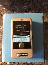 Electro Harmonix Nano Holy Grail Digital Reverb EHX Guitar Effect Pedal