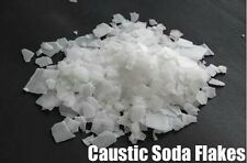 Caustic Soda Flakes (400g) For Drain cleaner, soap making with Free 2 Gloves