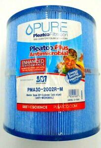 PLEATCO PURE SPA FILTER CARTRIDGE ANTI-MICROBIAL MASTER SPA PMA30-2002R-M BLUE