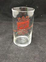 Schlitz Beer Red Logo Small Glass