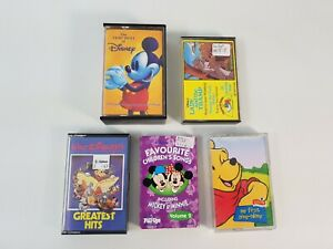 Disney Music Cassette Bundle Joblot Albums Kids Childrens Very Best of Disney