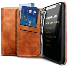 For Motorola Moto g7 Power/Supra Leather Wallet Magnetic Flip Card Holder Case