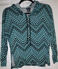 Rue21 Long Sleeve Hooded Crop Top Small
