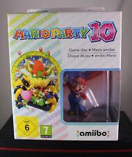 Mario Party 10 Edition + Amiibo Figur Mario (Nintendo WiiU,2015)  Neu OVP