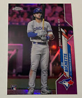 2020 Topps Chrome Update PINK REFRACTOR Rookie RC Bo Bichette PSA READY! 💰💰