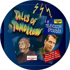 TALES OF TOMORROW VINTAGE TV (TELEVISION) SERIES - 18 EPISODES - SCI-FI, HORROR