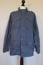 Cotton Traders Mens Blue Cotton Jacket Size XXL 2XL