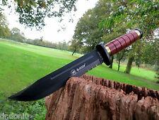 Jagdmesser Messer Knife Buschmesser Coltello Cuchillo Couteau Hunting Holzgriff