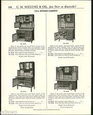 1921 ADVERT IXL Kitchen Cabinet Hoosier Type 4 Images
