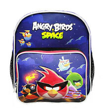 "Angry Birds Space Boys & Girls Mini 10"" Canvas Blue School Backpack"