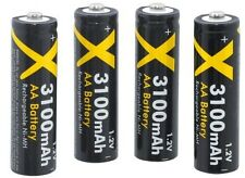 4AA BATTERY 3100mAH FOR CANON POWERSHOT SX150 SX130 IS