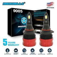 9005 LED Headlight Kit 2100W 315000LM High Low Beam Bulb 6000K White 9145 HB3 S7