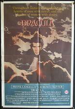 Dracula (1979) Australian One Sheet FRANK LANGELLA