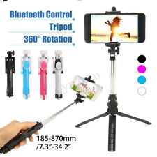 bluetooth Télescopique Selfie Stick Bâton Perche +Trépied Monopode Bras Sans Fil