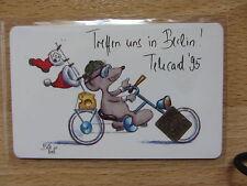 Seltene deutscheTelefonkarte P13 9/95 mit 2. Chip Modul Rar Selten
