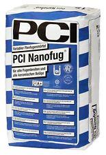PCI Nanofug 15 kg Hellgrau Flexfugen-Mörtel Verfugen Fliesen Flexfuge Bad Küche