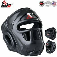 ADii™ Boxing Headgear MMA Head Guard Protective Face Helmet Kickboxing Head Gear