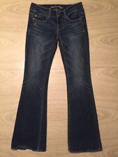 "2 - Women's - AMERICAN EAGLE - Blue Denim Stretch Bootcut Jeans 29"" x 30"" Artist"