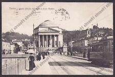 TORINO CITTÀ 467 TRAM Cartolina viaggiata (1920 ?)