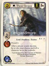 A game of thrones LCG - 1x Theon Greyjoy #017 - spoils of War