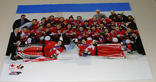 Team Canada Women's Centre Ice 16x20 Photo 2014 NHL Hockey Winter Olympics Gold