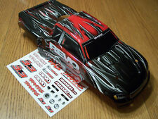 53097-3 Traxxas 3.3 Nitro Revo Red Black Gray Factory Painted Body w/ Decals