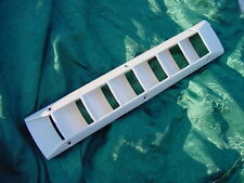 BOAT BILGE VENT LOUVER SEA RAY MARINE BAYLINER SEARAY OFF WHITE 2 vents! A pair!