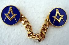 Masonic Jigger Buttons Blue
