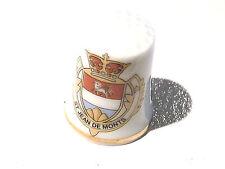 Objet de collection dés de porcelaine Vendée St Jean de Monts  85