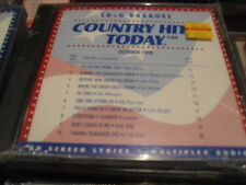 COUNTRY HITS TODAY KARAOKE CD+G 9810-C SEALED