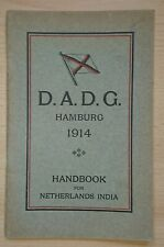 Rar! Deutsch-Australische Dampfschiffs-Gesellschaft Handbook 1914 Seefahrt DADG