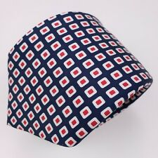 "Suitsupply Tie Necktie Blue Silk Red White Multicolor Mens Squares Neck 3"" Width"
