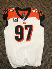 Geno Atkins Game Used/Signed Cincinnati Bengals Jersey 12/22/19 Photomatched