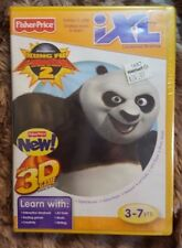 Fisher-Price iXL Learning System Software Kung Fu Panda 3D  New
