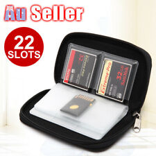 Storage Wallet Holder MMC Carrying Pouch Case Memory Card SDHC CF Micro SD