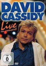 DVD NEU/OVP - David Cassidy - Live In Concert