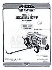 Haban Cadet 402-D Sickle Bar Mower Operator Ser. Manual