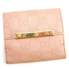 Auth GUCCI Double Sided Wallet GUCCI Shima Women''s used J15300