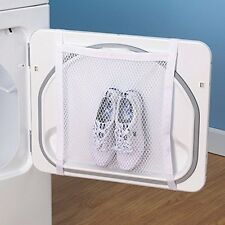 Laundry Polyester Sneaker Shoes Caps Wash Dry Bag Washing Cleaning Fabric White