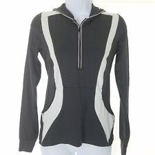 Bebe PH8 S Jacket Black Pink Pullover Hoodie Jugging Running Workout Stretch Zip