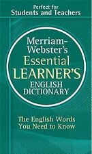 Merriam-Webster's Essential Learner's English Dictionary: By Merriam-Webster