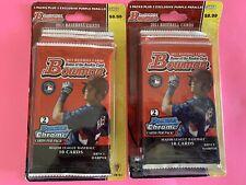 2011 Bowman Baseball  Blister BOX Packs &  Purple Parallel Cards 2 PACK LOT RARE