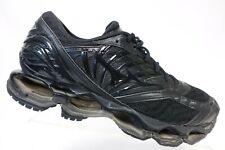 MIZUNO Wave Prophecy 8 Black Sz 10 Men Running Shoes